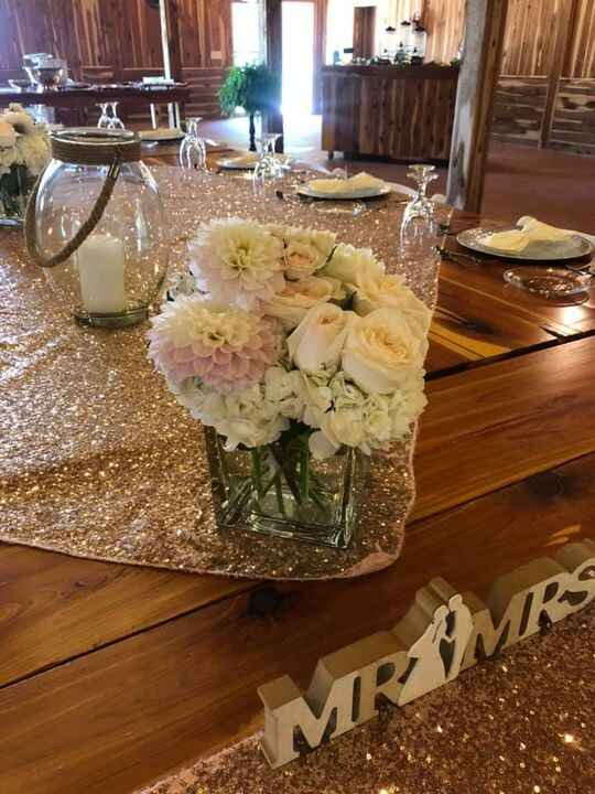An intimate wedding party of less than 20 is still special at Copper Ridge! Full service catering available! Dahlia and ...