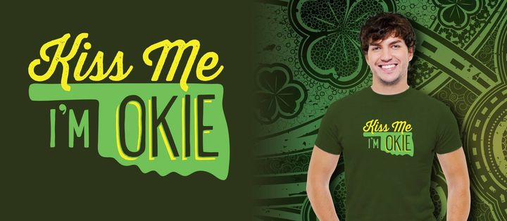 If you were an Okie Goodies Box subscriber last March, you'll probably remember this design from your button gift! Oklah...