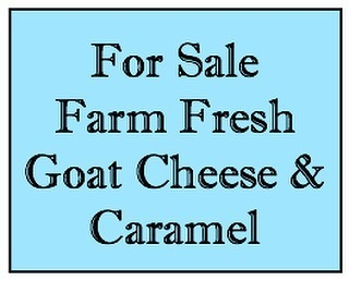 We are starting to sell our cheeses & caramel this year again 😀 You can pick it up with no contact at one of 3 locations...