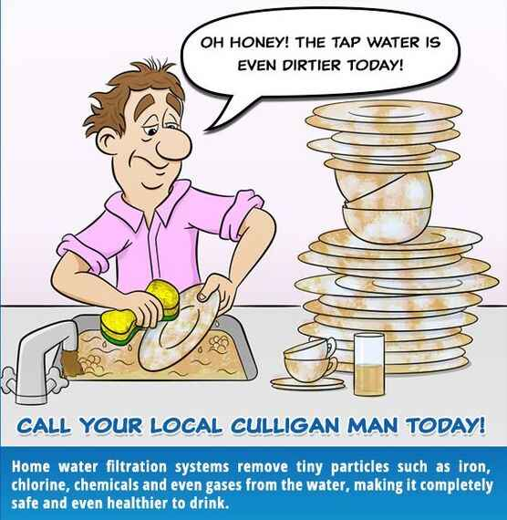 Home water filtration systems remove tiny particles such as iron, chlorine, chemicals and even gases from the water, mak...