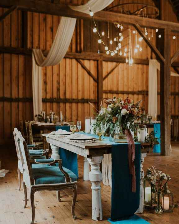 A table for two ✨💙It's Friday! We have another sweet wedding this weekend. This wedding is so special to us. Bri & Jon w...