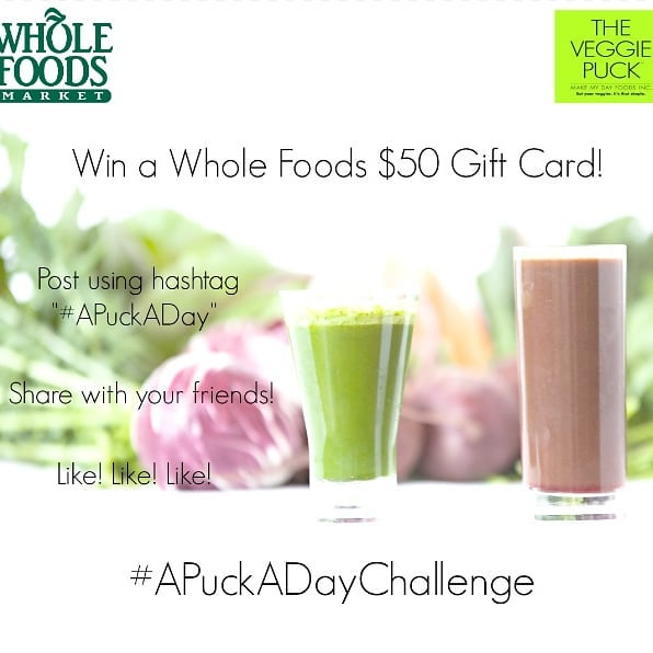 Don't forget about...🎉GIVEAWAY SEASON!!!🎉The #APuckADay Spring Contest is here! 🌱☀️ ⭐Win a $50 Whole Foods Gift Card as ...